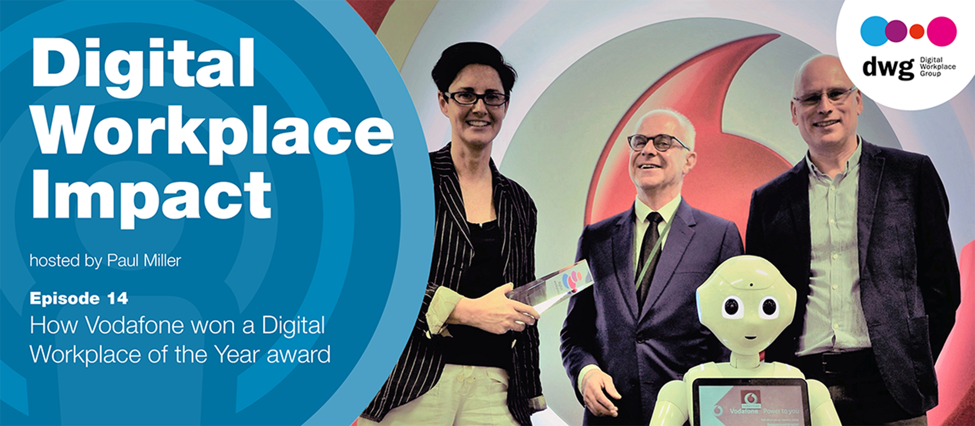 How Vodafone won a Digital Workplace of the Year award