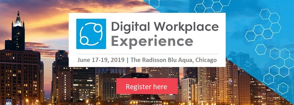 Join us at Digital Workplace Experience